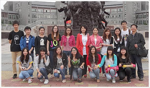 青岛农业大学海都学院:包饺子和pocib一样,第一次接触.